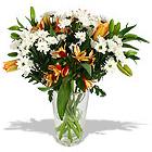 чтобы букет цветов не завял (цветы из сада)
