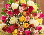 чтобы букет цветов не завял (цветы из магазина)